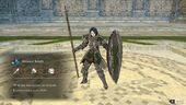 Shamir armored knight