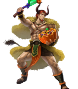Dorcas The Land's Bounty Fight