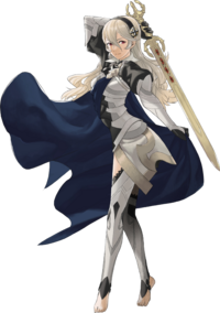 Artwork oficial Avatar femenino - Fire Emblem Fates