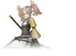 Artwork parcial Lissa - Fire Emblem Warriors