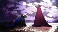Edelgard defeats Dimitri