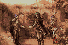 Eirika, Ephraim and Lyon
