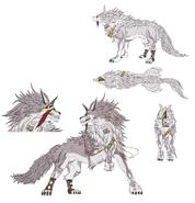 Wolf Queen concept