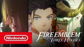 Fire Emblem Three Houses - Tráiler del E3 2019 (Nintendo Switch)