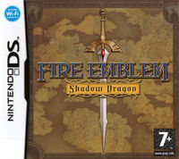Caratula Fire Emblem Shadow Dragon