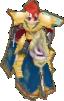 FE10 Titania Gold Knight Sprite