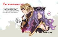 Conmemoracion de Aniversario por Shigeki Maeshima