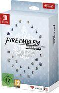 Caja de la edición especial de Fire Emblem Warriors (Europa)