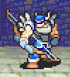 Bartre as a Warrior with a Bow