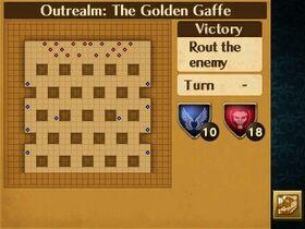 The Golden Gaffe Map