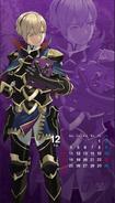 Calendario Fire Emblem Heroes - Leo