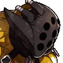 Minirretrato Inhumano dorado - Fire Emblem Fates