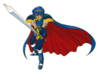 Brawl Sticker Marth