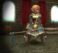 FE13 War Cleric (Female Morgan)