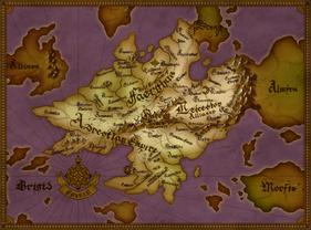 Fodlan continent