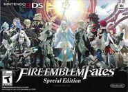 Caja americana de Fire Emblem Fates Limited Edition