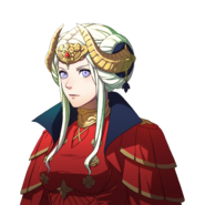 Retrato de Edelgard (emperatriz) - Fire Emblem Three Houses