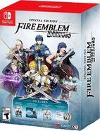 Caja de la edición especial de Fire Emblem Warriors (América)