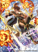 Delthea as a Priestess in Fire Emblem 0 (Cipher)