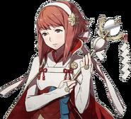 Retrato Sakura - Fire Emblem Fates