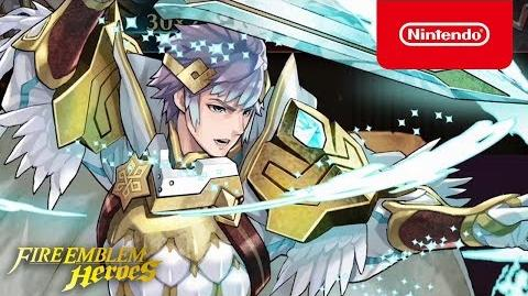 Fire Emblem Heroes - Legendary Hero (Hríd Icy Blade)