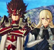 Corrin and Ryoma