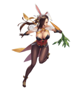 Kagero (Hares at the Fair) Fight