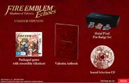 Imagen global de la edición limitada australiana de Fire Emblem Echoes