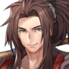 Portrait Ryoma Samurai at Ease Heroes