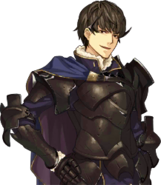 Retrato Berkut - Fire Emblem Echoes Shadows of Valentia