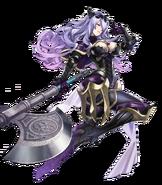Artwork Camilla atacando - Fire Emblem Heroes