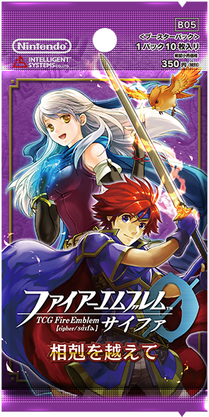 Fire Emblem Cipher Booster Pack Box Life and Death fate card From