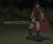 FE10 Ike Hero Battle Model