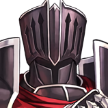 Portrait Black Knight Heroes