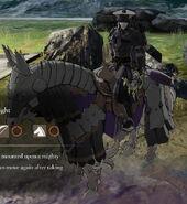 Riegan bow knight