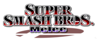 Logo Super Smash Bros. Melee