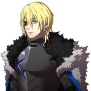 Retrato de Dimitri (Gran Lord) - Fire Emblem Three Houses