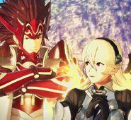 Corrin and Ryoma2