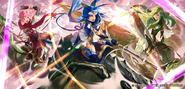 Est, Catria, and Palla R by Mayo