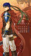 Calendario Fire Emblem Heroes - Ike (julio)