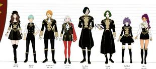 FE3H Black Eagles Height Chart