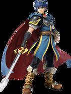 Marth (Super Smash Bros. for 3DS - WiiU Artwork)