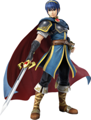 Marth (Super Smash Bros. for 3DS - WiiU Artwork)