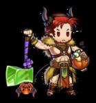 Heroes Dorcas Sprite (Halloween)