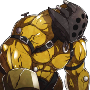 Retrato Inhumano dorado - Fire Emblem Fates
