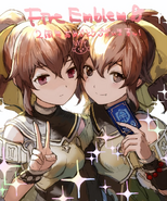 Delthea with possessed Delthea