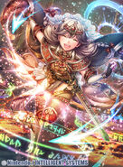 Faye as a Priestess in Fire Emblem 0 (Cipher)