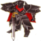 FE9 Black Knight General Sprite