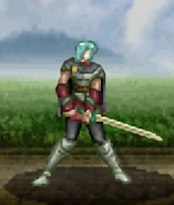 Mahter battle (dismounted DragKnight)