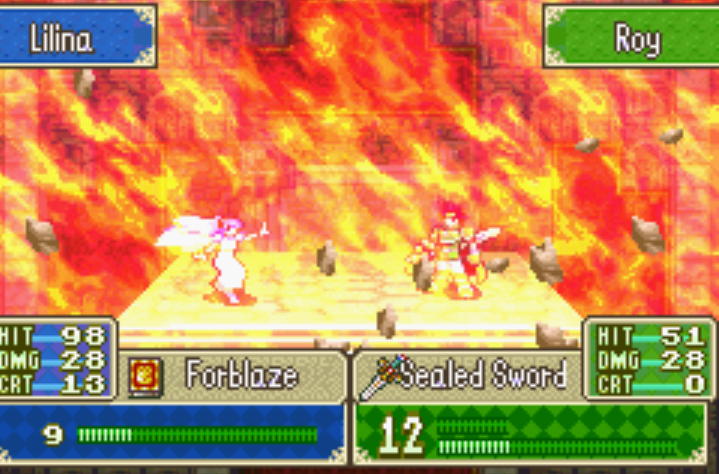 Forblaze FE6
